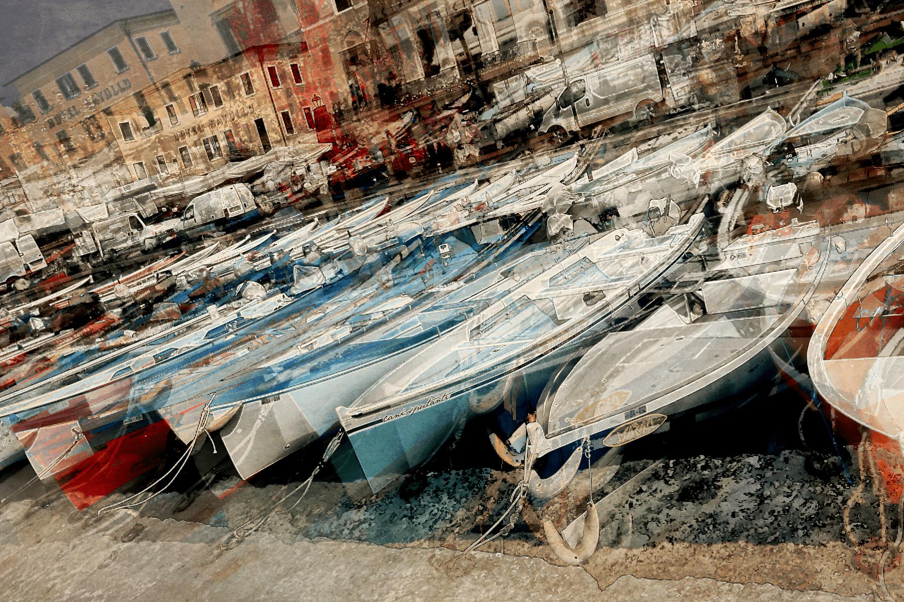 Boote am Lago di Garda