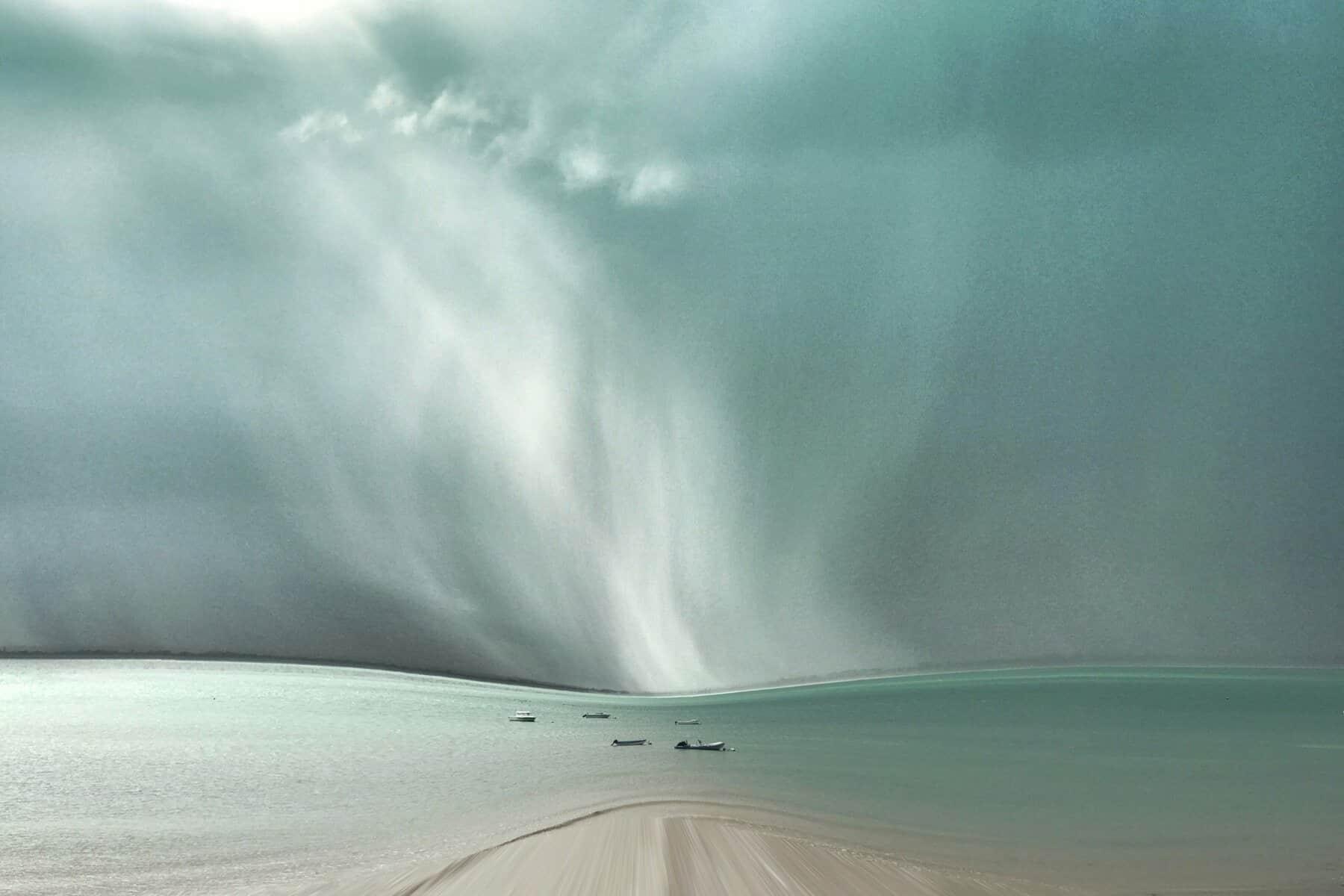 Cloud Beach in Brittany