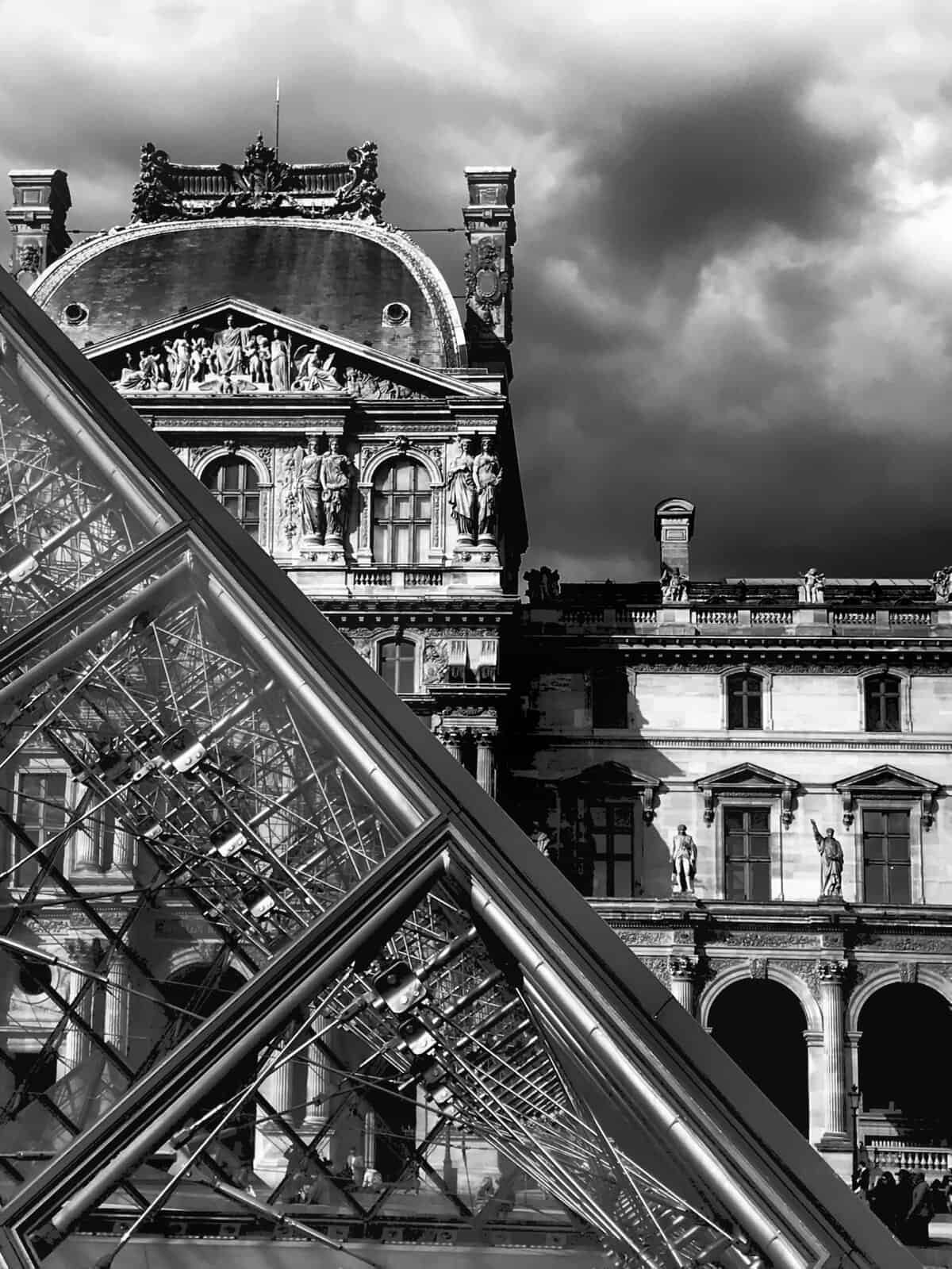 Clouds over the Louvre